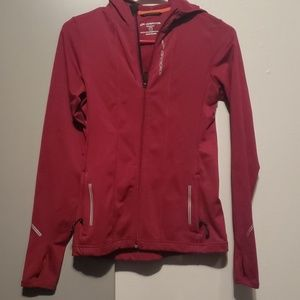 Jacket wine colored